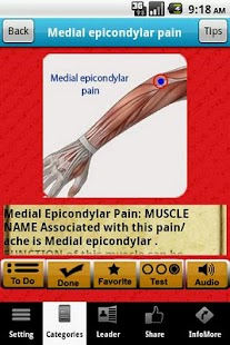Muscle Trigger Points LITE- screenshot thumbnail