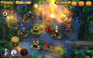 Screenshot of Evil Defenders