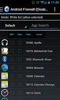 Screenshot of Firewall Gold