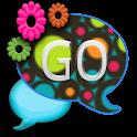 GO SMS THEME/ColorfulRetro logo