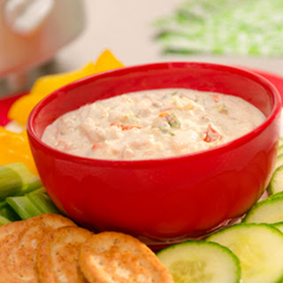 Warm Slow Cooker Crab Dip.
