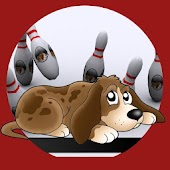 Dog bowling for kids