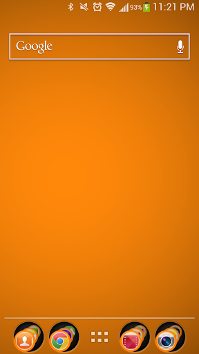 Orange Theme Nova