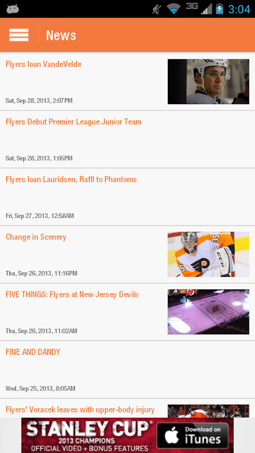 Philadelphia Flyers - screenshot