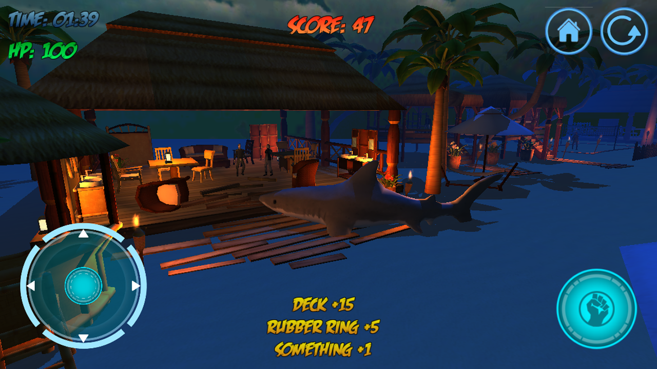 shark attack d simulator android apps on google play shark attack 3d simulator screenshot