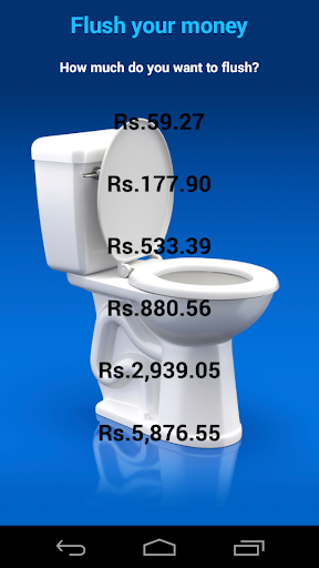 Flush Your Money