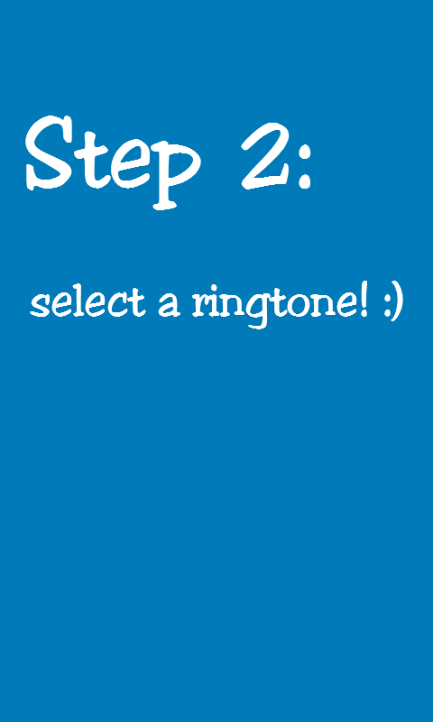 Ringtone Change (One Click)- screenshot