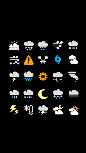 Chronus: Amigo Weather Icons