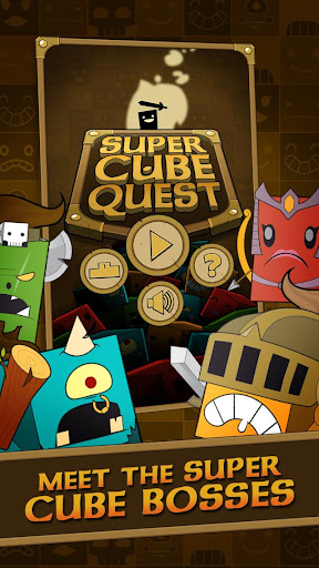 Super Cube Quest action puzzle