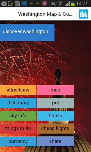 华盛顿离线地图和指南