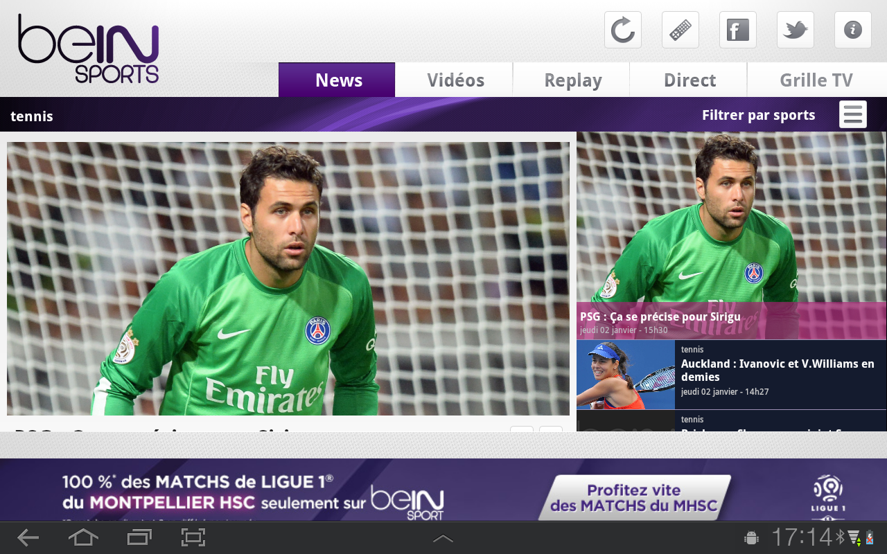 Bein sports android apps on google play - Grille des programmes bein ...
