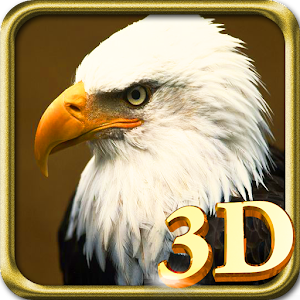3D Eagle Live Wallpaper Icon