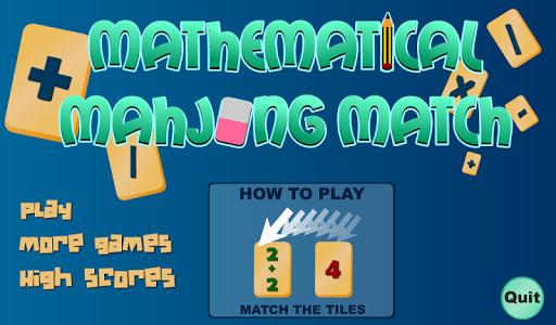 Math Mahjong Free