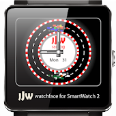 Animated RaceCar2 WatchfaceSW2
