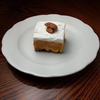 Pumpkin Pecan Dessert