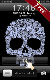 Flower Skull GO Locker - screenshot thumbnail