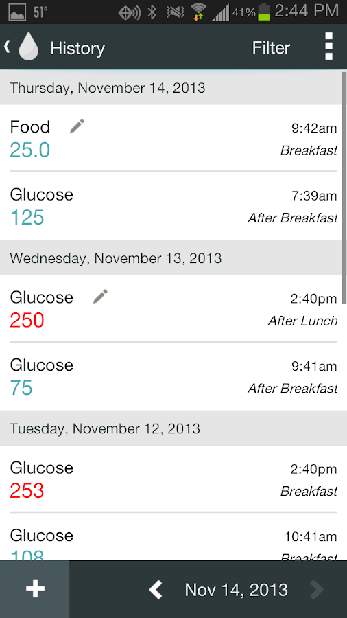 OnTrack Diabetes - screenshot