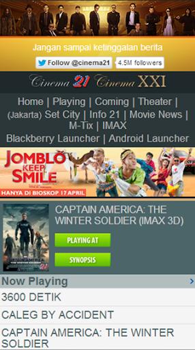 Jadwal Bioskop 21 Cineplex