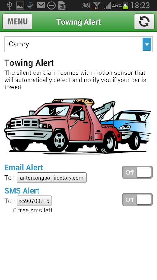 The Silent Car Alarm - screenshot