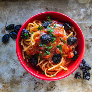 Pasta Puttanesca Without Anchovies Recipes.