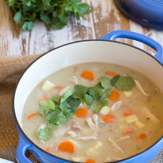 Creamy Chicken Soup {AIP, Whole30, Coconut Free}.