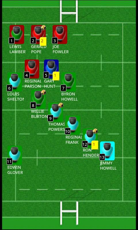 run Rugby Manager- screenshot