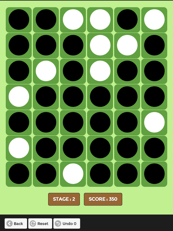 Slide Reversi- screenshot