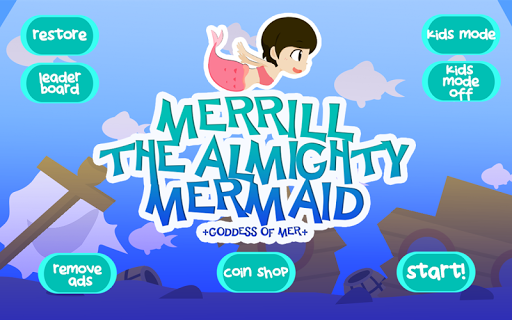 Merrill the Almighty mermaid