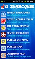 Screenshot of Il Subacqueo v1