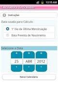 Screenshot of Calculadora Gravidez (PTv7D)
