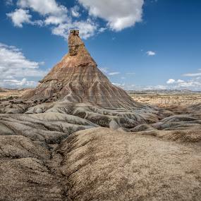 Bardenas Reales by Jesús Sánchez Ibáñez - Landscapes Deserts ( navarra, desert, bardenas, spain )