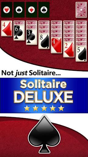 Solitaire Deluxe screenshot 1