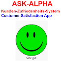ASK-ALPHA Customer Satisfation logo