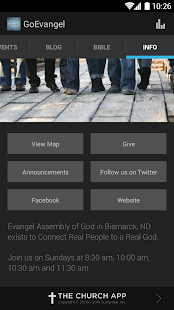 Evangel Assembly of God - screenshot thumbnail