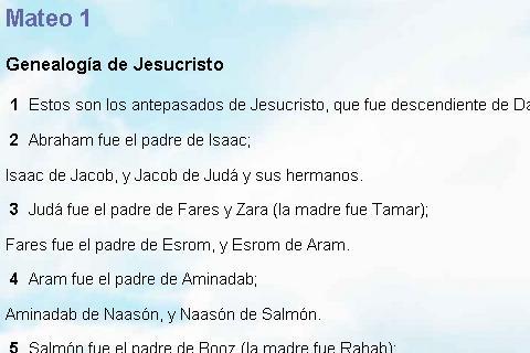 Biblia Castellano Castilian NT- screenshot
