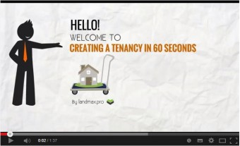 How to create a Tenancy and Schedule Payments