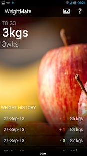 WeightMate Weight Loss Tracker - screenshot thumbnail