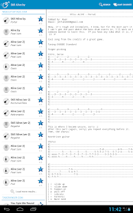 Achording Guitar Tabs & Chords - screenshot thumbnail