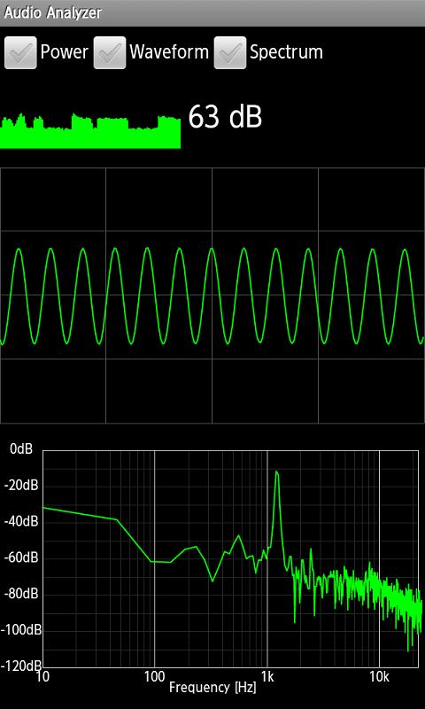 Free Real-time Audio Spectrum Analyzer Software