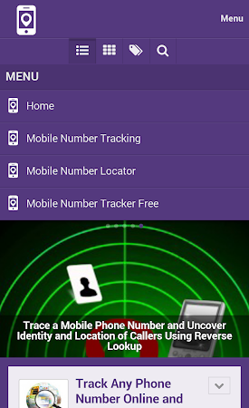 Mobile Number Tracker Tips 1.0 screenshot 9982