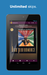 AccuRadio - screenshot thumbnail