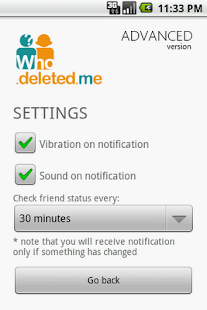 Who Deleted Me Notifier