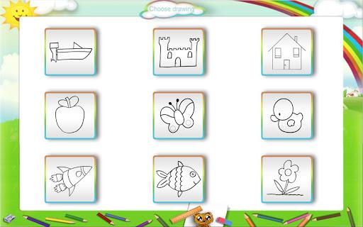 Kids Coloring Book 2D