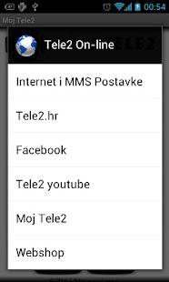 Moj Tele2- screenshot thumbnail