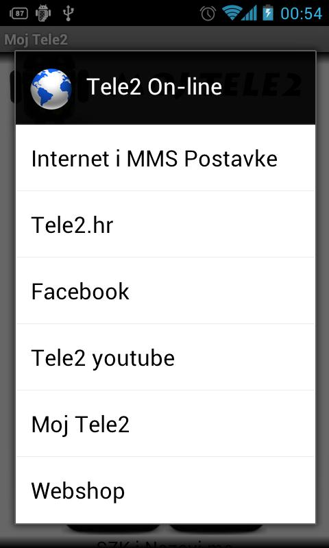 Moj Tele2- screenshot