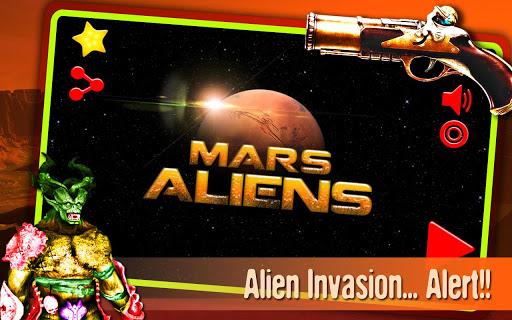 火星エイリアン