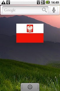 Polish Flag Widget- screenshot thumbnail