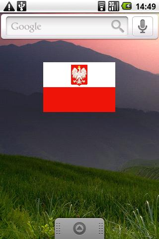Polish Flag Widget - screenshot