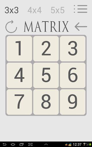 Matrix free для планшетов на Android