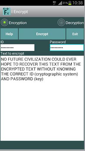 I Encrypt